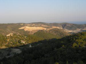 Vista des de Penya Riscla